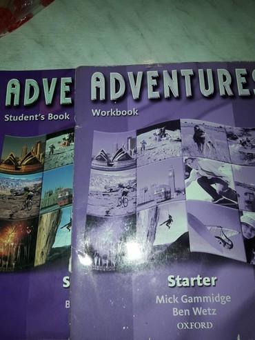 samsung ativ book в Кыргызстан: Учебник английсского Adventure Workbook и Andventure Students
