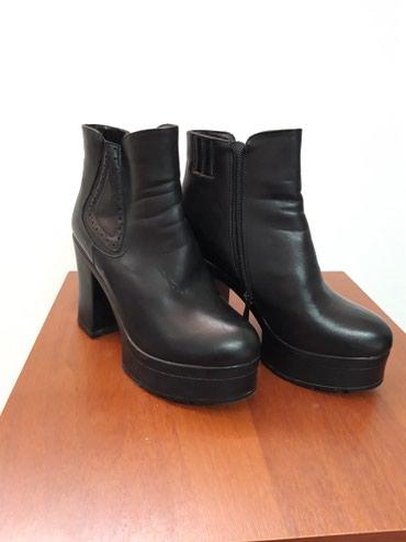 черное платье размер 38 в Кыргызстан: Сапоги на платформе 38 размер