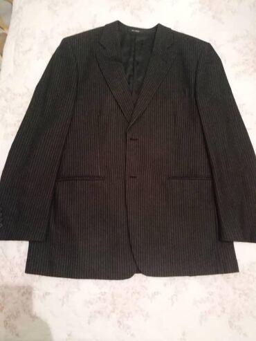 Продаю шерстяной костюм, 54 размер, б/у, бренд Тэд Лапидус Франция