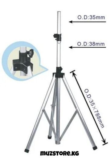 stoj material в Кыргызстан: DB012W Стойка для акустической системы, нагрузка 50кг