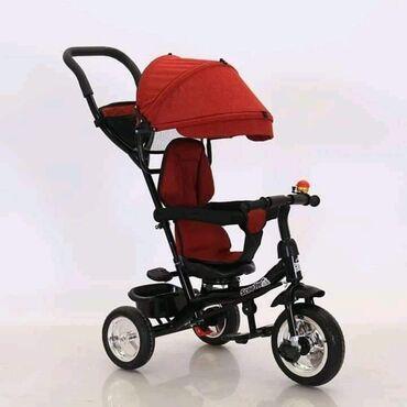 Kolica za bebe - Srbija: Tricikl sa tendom i ROTIRAJUCIM SEDISTEM7590 dinaraNapravljen od jake