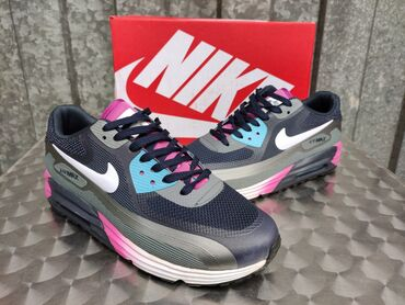 Nike Air Max 90 Lunar DK. Blue/Purple Nike Pakovanje-NOVO!   Patike su