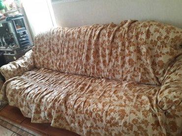 Продаю Диван+ 2кресла +дивандейки на диван и кресла (торг уместен) в Бишкек