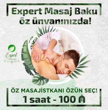 """Salam """"Expert Massage """" Xidmətinə Xoş gəlmişsiz Masajın"""
