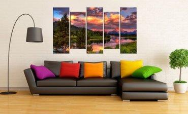 аукцион картин в Кыргызстан: Модульная Картина у Вас дома или в офисе украсит абсолютно любой
