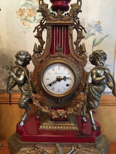 Продаю Антикварные часы. Итальянский гарнитур с кандилябрами. Начало