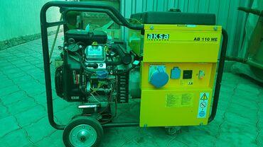 Генераторы - Кыргызстан: Продаю генератор на 8 киловатт, японский двигатель 2 -ух цилиндровый