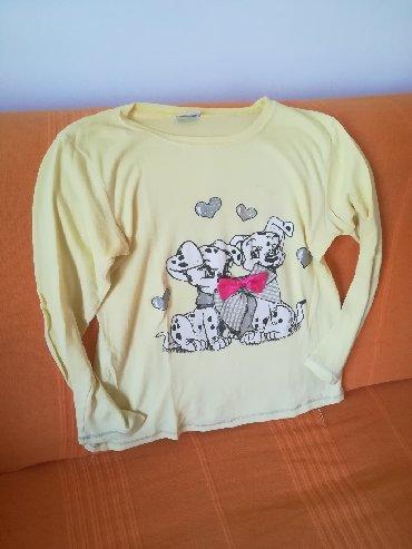 Ostala dečija odeća   Vranje: Mnogo slatka dukserica sa dalmatincima,tanja vel 12, obim grudi 80 cm