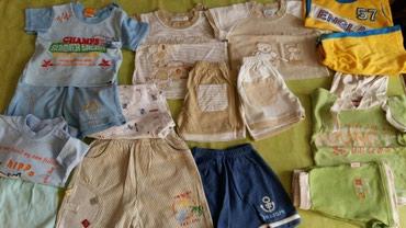 Kompletici za bebe(letnji,ocuvani,sorcevi i majce)5kompleta vel.1god.2 - Petrovac na Mlavi