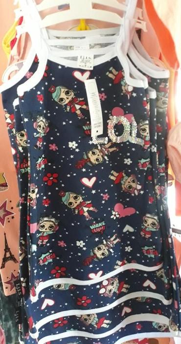 Dečija odeća i obuća | Novi Sad: Pamučne haljine za devojčice, veličine 2, 4, 6, 8 i 10