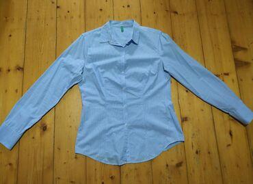 женские кардиганы травка в Азербайджан: Женская рубашка. Размер M-L. Ткань тонкая, подойдёт на лето. Фирма