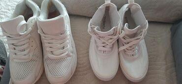 Ženska patike i atletske cipele | Jagodina: Patike sa sitnim ostecenjem broj 38,oba para po ovoj ceni