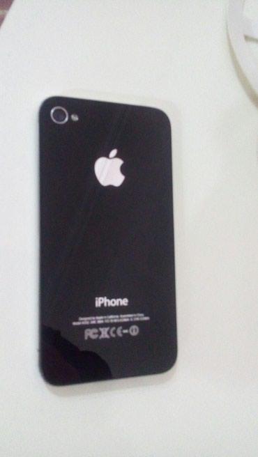 Bakı şəhərində Iphone 4 satilir.iwlekdi.ekraninda balaca ciziq kimi cat var .elaqe