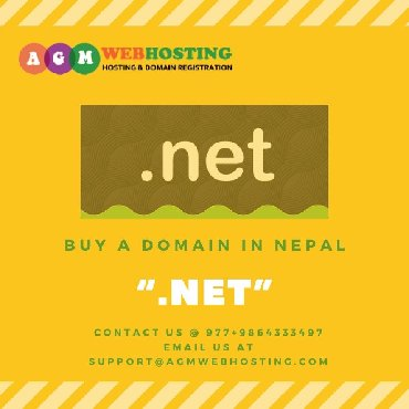 "Buy A Domain In Nepal Get "".Net"" NPR.1318. Yes You Heard That Right! E"