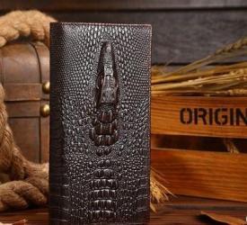 сумка два в одном в Кыргызстан: Портмоне WILD Alligator кожа,+ бесплатная доставка по крОсобенности и
