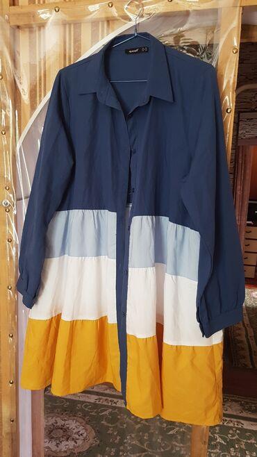 Личные вещи - Гавриловка: Новое платье рубашка/ туника Размер 48. Цена 1000с