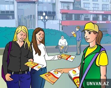 Reklam, poliqrafiya - Azərbaycan: Münasib qiymətlərlə flayer, buklet, broşur paylayırıqVatsapda yazın