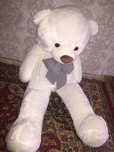 razmer 140 в Кыргызстан: Мишка 140 см в пакете чистая, не открывали!!! Уступка будет
