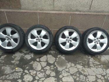 Комплект колес 215/45/ R17 Toyota Prius ZVW30. Диски оригинальные