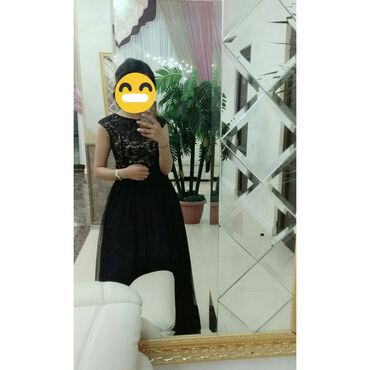 шикарное маленькое черное платье в Кыргызстан: Шикарное вечернее платье. Двойка. Цена договорная