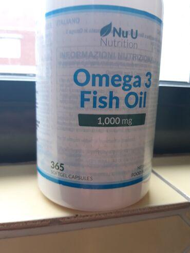 Omega 3 - 365 kapsula Omega 3 rok trajanja 07. 2022