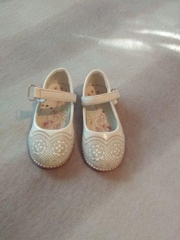 Детские туфельки новые 25 размер брала за 450 отдам за 400 нам малы в Беловодское