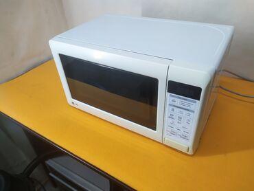 вансы бишкек in Кыргызстан   ЖҮК ТАШУУ: Бесплатная доставка. Микроволновая печь LG 20 литров в хорошем