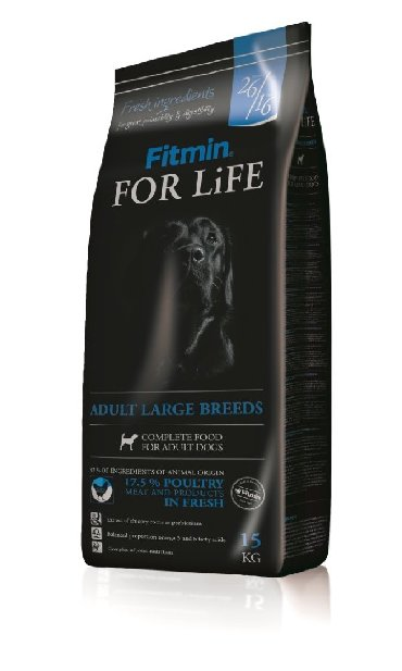 Корм для собак крупных пород Fitmin For Life Adult large breeds 3 кг