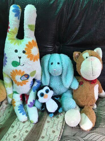 Фирменные немецкие игрушки в отличном состоянии, за все цена+подарок!