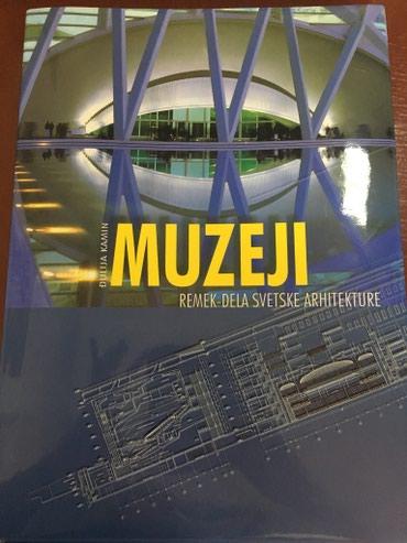 Sport i hobi - Uzice: Muzeji- remek dela svetske arhitekture Novo. Nova knjiga, tvrd povez