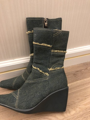 ботинки осенние 36 размер в Кыргызстан: Женские сапоги 36