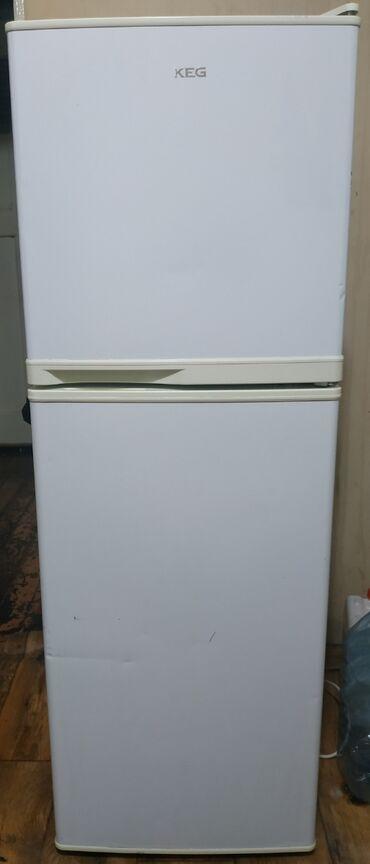 летнее платье 50 размера в Кыргызстан: Б/у Двухкамерный Белый холодильник