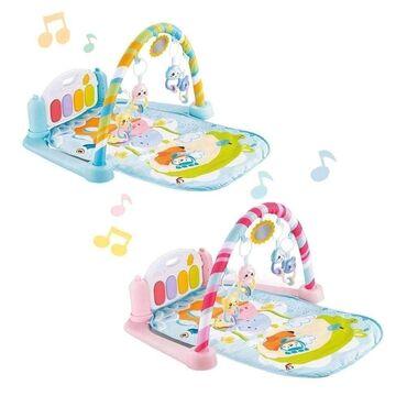 Bebi podloga - Gimnastika sa pianomUdobna podloga za igru i za