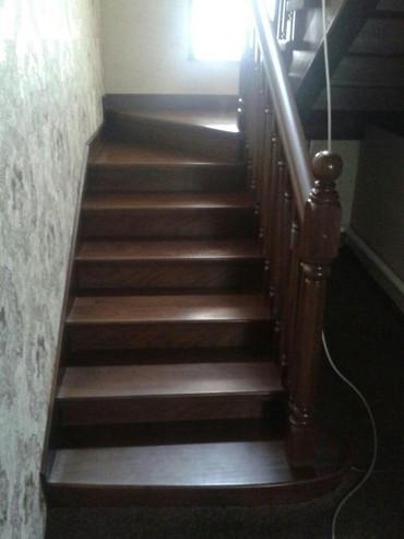 чердачные складные лестницы в Кыргызстан: Ресторация лестниц дверей и тд