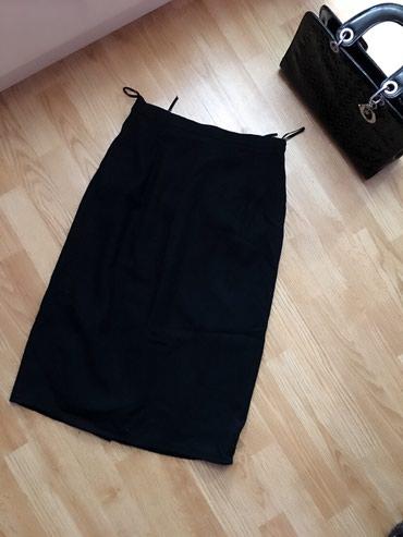 Crna debela suknja sa postavom, m - Bor