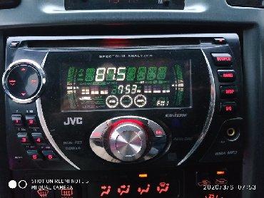Авто могнитола JVC KW-XG506 в идеальном сомтоянии. На Тойоте Ипсум
