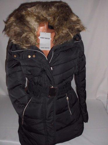 Zimska jakna fatirana i veoma topla, duzi model, velika - Beograd