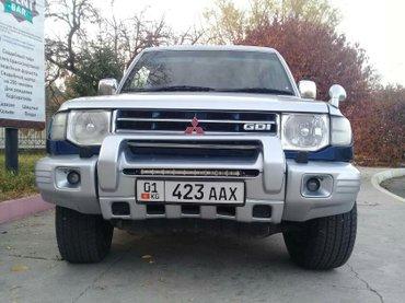 мицубиси поджера классик 1998г 3. 5 объем бензин. правый руль. автомат в Бишкек