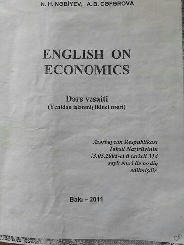 """Учебники для ВУЗов """"English on economics"""". Есть еще разные учебники и"""