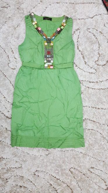 Платье украшенное бисером. Надевала 1 раз. Размер s. Цена 800с. Италия