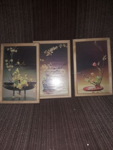 Slike | Beograd: Dva rama za slike drvo, dimenzije oko 25x30 cm