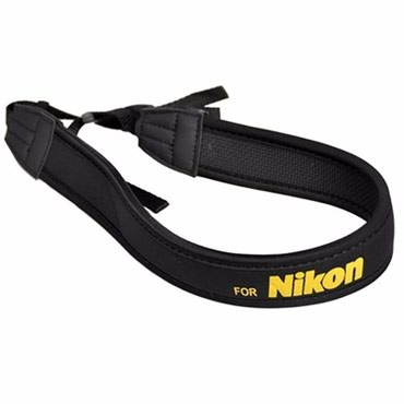 """Ремень для фотоаппарата """"Nikon""""  Мягкий и удобный ремень для фотоаппар"""