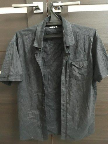 Рубашка черная турецкая  размер xxl в Лебединовка