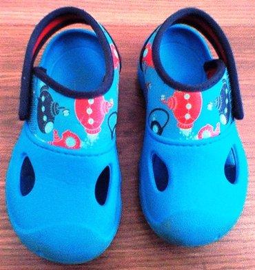 продаю в хорошем состоянии обувь на мальчика: 1)  кроксы, размер 24; в Бишкек