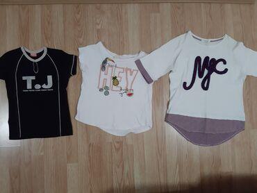 !Moze da se kupi odvojeno!3 majce1 majca-crna sa belim slovima-teens