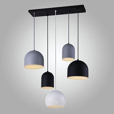Люстра хайтек 6 ламп