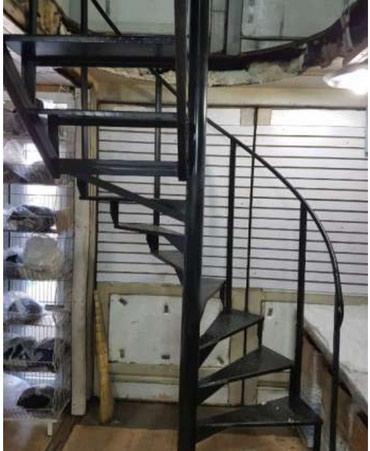 Сварочный навес отопление лестница решетка в Кант