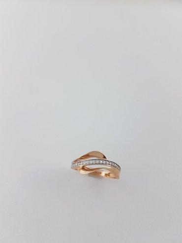 Кольцо. 16. 0 размер кольца. проба 585. в Бишкек