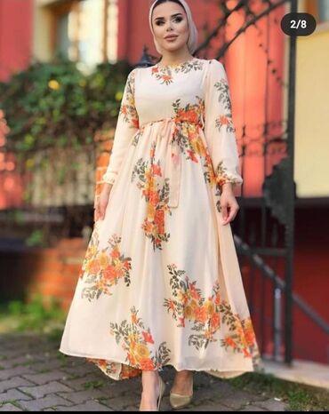 Личные вещи - Бостери: Платья Длина 140 смТкань шифонПроизводство Турция WhatsAp Цена