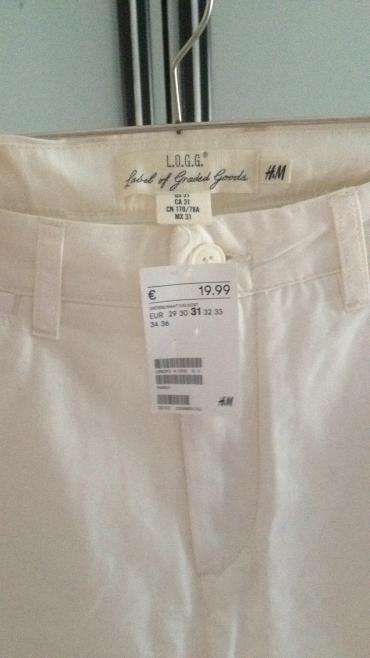 Nove,muske,kratke pantalone HM,vel.31 Rasprodaja - Krusevac
